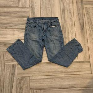 LEVI'S Denim Straight Leg Jeans